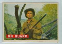 1956 Davy Crockett Orange 26 On Guard Very Good Cream Back