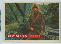 1956 Davy Crockett Orange 28 Davy Senses Trouble Very Good