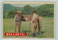 1956 Davy Crockett Orange 35 Bullseye! Good to Very Good