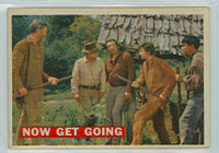 1956 Davy Crockett Orange 39 Now Get Going Very Good Cream Back
