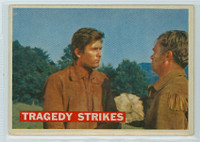 1956 Davy Crockett Orange 40 Tragedy Strikes Very Good Cream Back