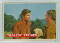 1956 Davy Crockett Orange 40 Tragedy Strikes Very Good