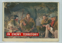1956 Davy Crockett Orange 49 In Enemy Territory Fair to Good