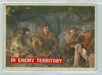 1956 Davy Crockett Orange 49 In Enemy Territory Very Good