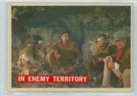 1956 Davy Crockett Orange 49 In Enemy Territory Very Good to Excellent