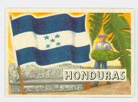 1956 Flags of the World 8 Honduras Near-Mint