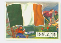 1956 Flags of the World 15 Ireland Excellent to Excellent Plus