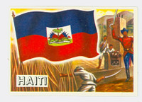 1956 Flags of the World 16 Haiti Near-Mint Plus