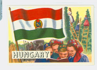 1956 Flags of the World 38 Hungary Near-Mint to Mint