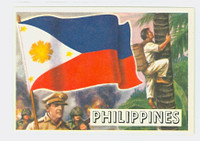 1956 Flags of the World 41 Philippines Near-Mint to Mint