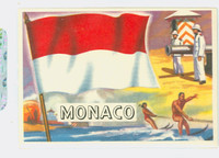 1956 Flags of the World 79 Monaco Excellent to Mint