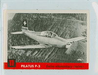 1956 Jets 11 Pilatus P-3 Excellent to Mint