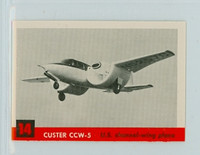 1956 Jets 14 Custer CCW-5 Near-Mint