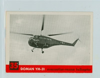 1956 Jets 35 Doman YH-31 Excellent to Mint