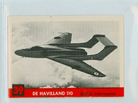 1956 Jets 39 De Havilland 110 Excellent to Mint
