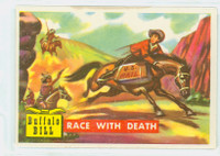 1956 Round Up 23 Race With Death Excellent to Excellent Plus