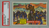 1956 Round Up 25 Surprise Raid PSA 7 Near Mint
