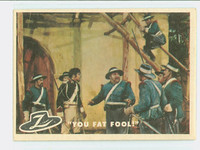 1958 Zorro 43 You Fat Fool! Excellent