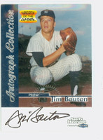 Jim Bouton AUTOGRAPH d.19 1999 Fleer Greats of the Game Yankees CERTIFIED 