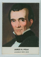 1960 Golden Press Presidents 11 James Polk Excellent