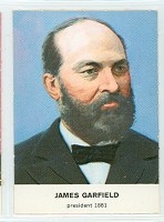 1960 Golden Press Presidents 20 James Garfield Near-Mint to Mint