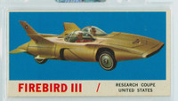 1961 Sports Cars 6 Firebird III Excellent to Mint