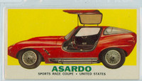 1961 Sports Cars 12 Asardo Very Good to Excellent