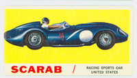 1961 Sports Cars 29 Scarab Very Good White Back