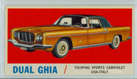 1961 Sports Cars 42 Duel Ghia Excellent White Back