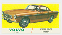 1961 Sports Cars 45 Volva P-1800 Very Good to Excellent White Back