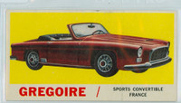 1961 Sports Cars 58 Gregoire Very Good to Excellent