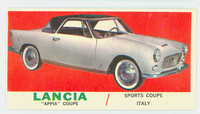1961 Sports Cars 59 Lancia Appia Very Good White Back