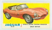 1961 Sports Cars 62 Jaguar XK-SS Good White Back