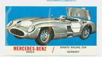 1961 Sports Cars 65 M-B 300SLR Very Good White Back