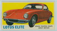 1961 Sports Cars 66 Lotus Elite Excellent