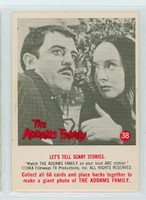 1964 Addams Family 38 Let's Tell Scary Stories Near-Mint Plus