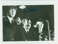 1964 Beatles Black|White 78 Paul McCartney Excellent to Mint