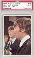 1964 Beatles Color 39 John and Paul PSA 7 Near Mint
