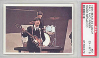 1964 Beatles Color 51 Paul and Ringo PSA 6 Excellent to Mint