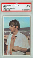 1964 Beatles Color 56 Ringo Starr PSA 7 Near Mint