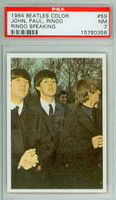 1964 Beatles Color 59 Paul, Ringo, John PSA 7 Near Mint