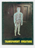 1964 Outer Limits O-Pee-Chee 3 Transparent Creature Excellent