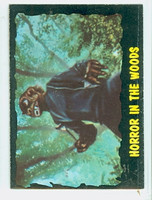 1964 Outer Limits O-Pee-Chee 13 Horror in the Woods Excellent
