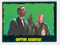 1964 Outer Limits O-Pee-Chee 42 Captive Scientist Excellent to Mint