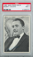 1965 Man From Uncle 13 Robert Vaughn PSA 7 Near Mint