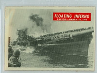 1965 War Bulletin 66 Floating Inferno Excellent to Excellent Plus