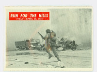 1965 War Bulletin 75 Run for the Hills Excellent to Mint