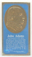 1965 Presidents|Famous Americans 2 John Adams Excellent