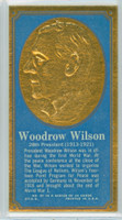 1965 Presidents|Famous Americans 27 Woodrow Wilson Excellent