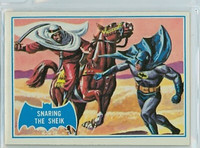 1966 Batman Blue Bat 8 Snaring The Sheik Excellent to Mint Logo